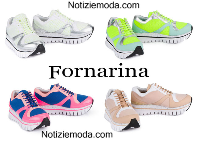 Sneakers Fornarina primavera estate 2015