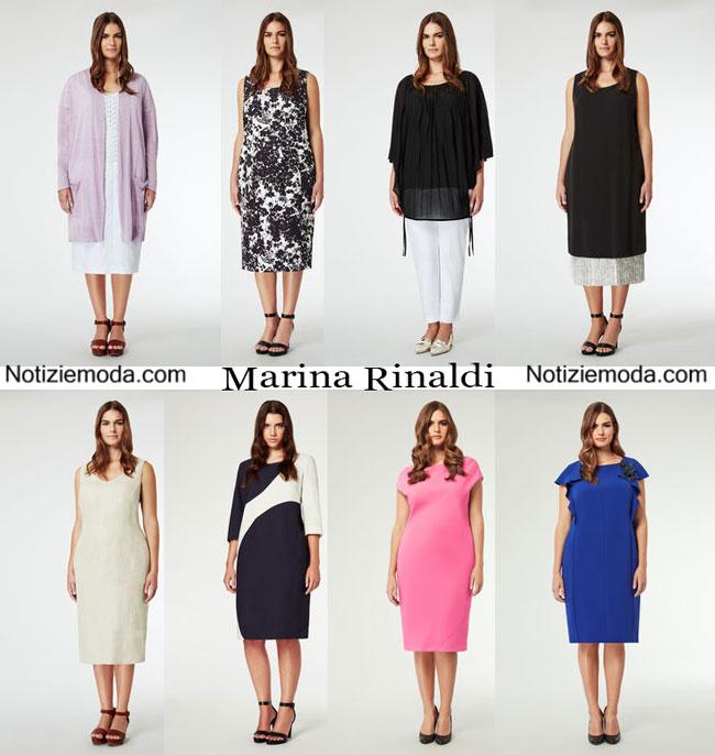 Abiti Marina Rinaldi 2015 taglie comode moda donna
