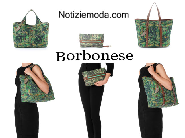 Accessori Borbonese borse primavera estate 2015