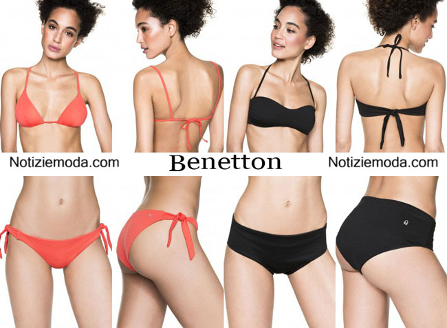 Accessori mare Benetton beachwear 2015 donna