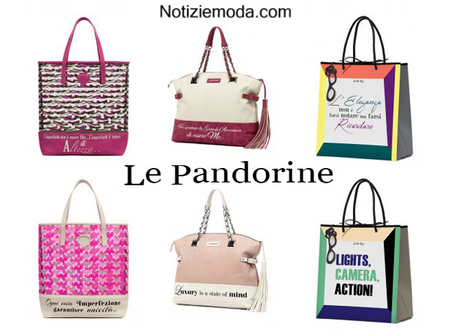 Bags Le Pandorine primavera estate 2015 donna
