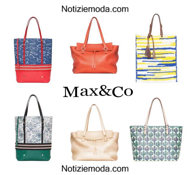 low priced 518fc 0f5ff Borse Max&Co primavera estate 2015 moda donna