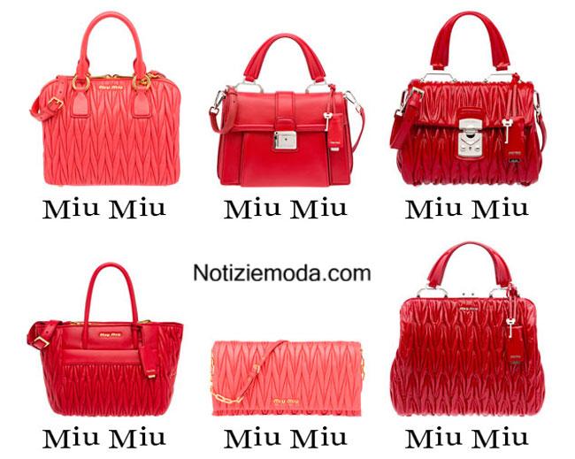 Moda Primavera Estate Borse 2015 Donna Miu xvIR5qwZ