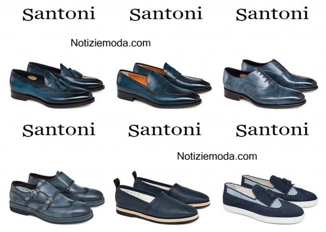 Catalogo Santoni calzature 2015 moda uomo