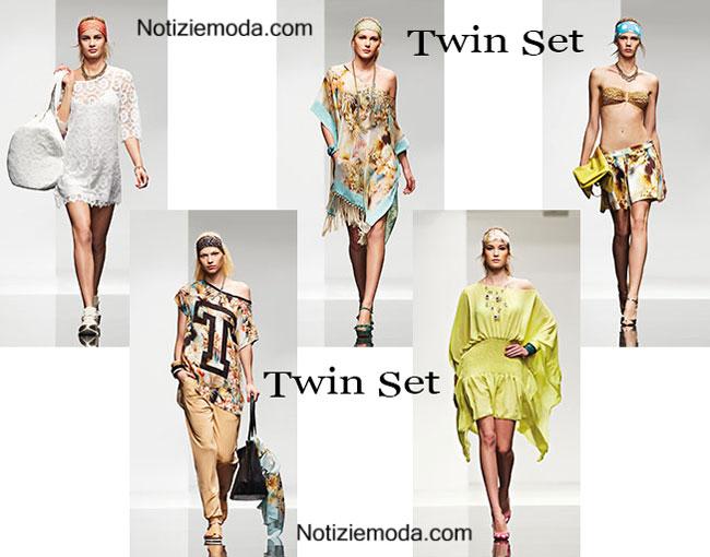 Collezione beachwear Twin Set estate 2015