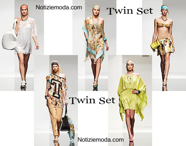 official photos b778e 6a2c1 Beachwear Twin Set estate 2015 costumi da bagno bikini