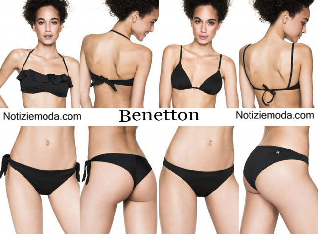 Costumi bikini Benetton primavera estate 2015