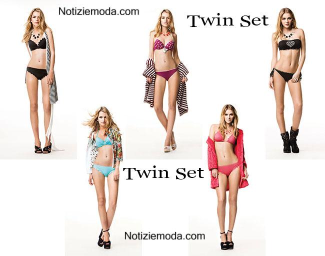 Costumi bikini Twin Set primavera estate 2015