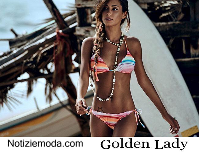 Costumi da bagno Golden Lady estate 2015 donna