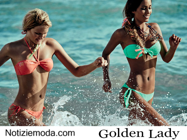 Moda mare Golden Lady estate 2015 bikini