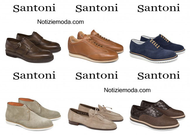Santoni calzature primavera estate 2015