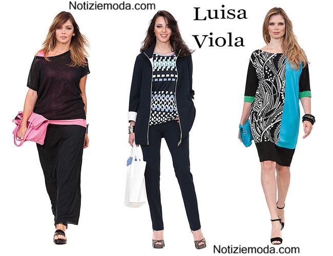 Taglie comode Luisa Viola primavera estate 2015 donna 59e89fcec1a
