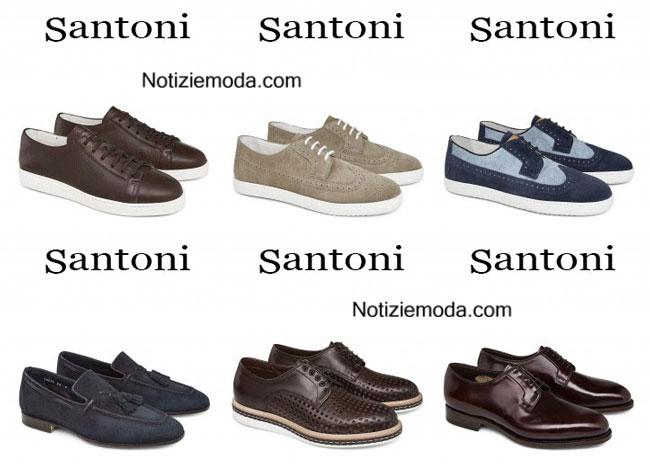 Scarpe Santoni calzature primavera estate 2015
