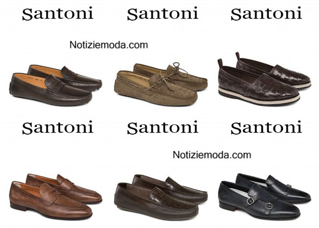 Shoes Santoni primavera estate 2015 uomo