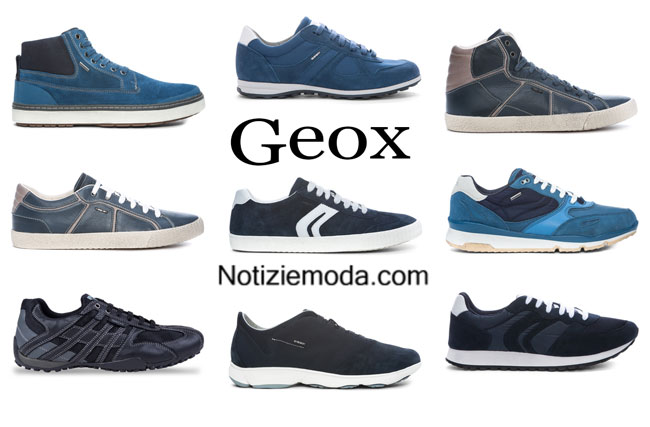 Sneakers Geox primavera estate 2015 uomo