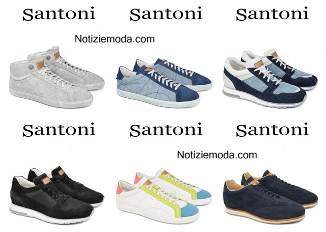 Sneakers Santoni primavera estate 2015 uomo