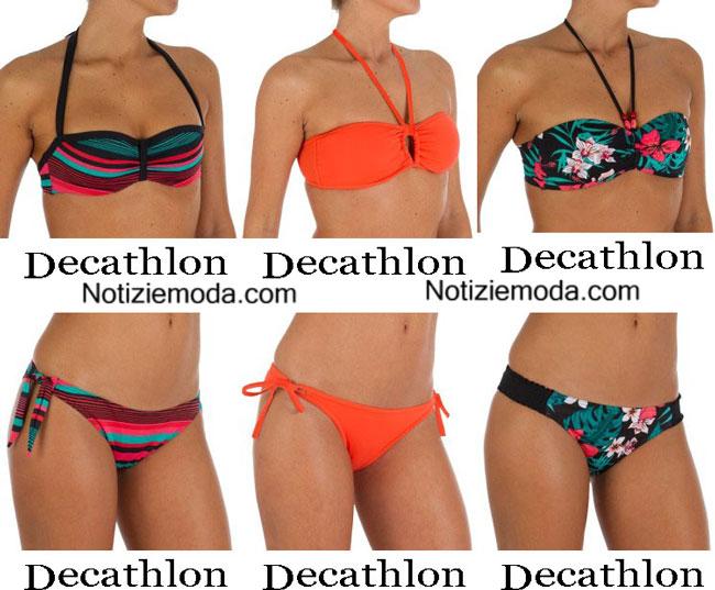 Moda mare Decathlon estate 2015 costumi da bagno bikini