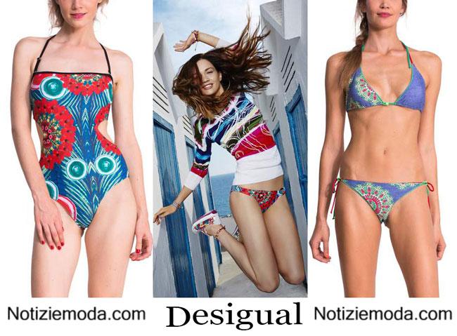 Moda mare Desigual estate 2015 costumi da bagno bikini