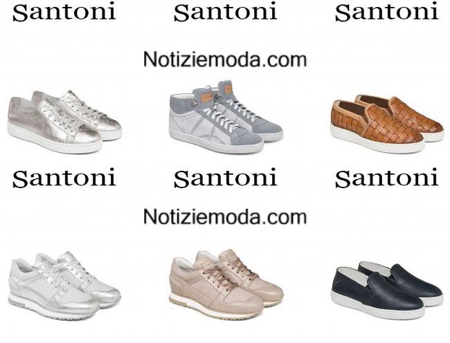 sneakers Ultimi modelli 2015 calzature Santoni donna wwcFq7PI 54d7f023969