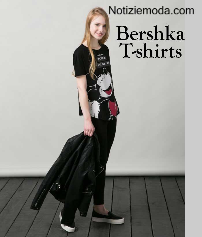 T-shirts-Bershka-autunno-inverno-donna-e-ragazza