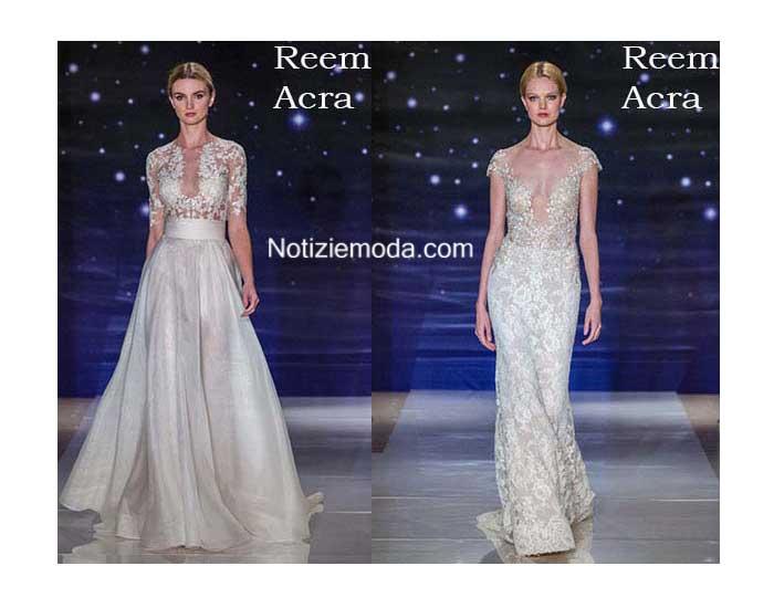 Abiti sposa Reem Acra primavera estate 2016