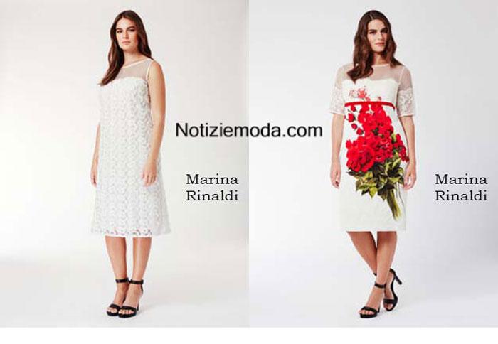 Curvy Marina Rinaldi primavera estate 2016