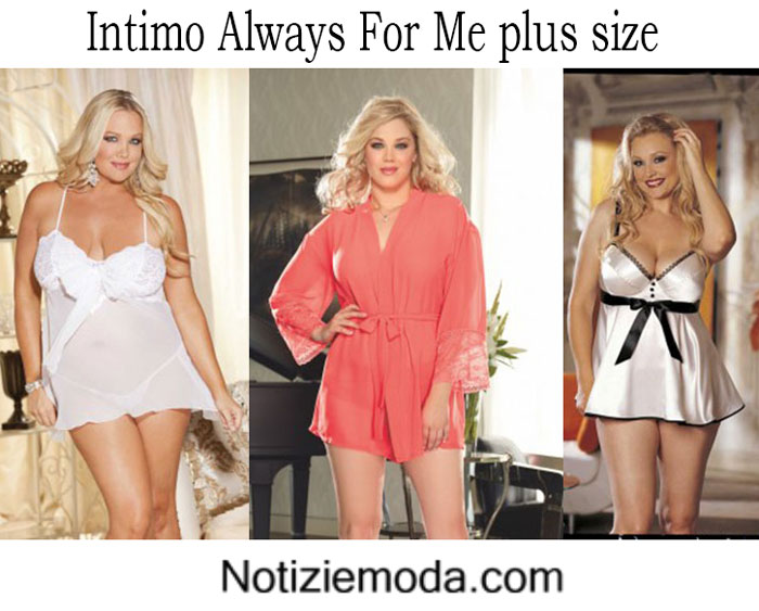 Intimo Always For Me primavera estate 2016 plus size