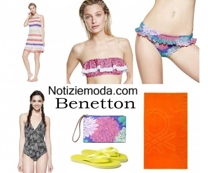 Moda mare Benetton primavera estate 2016 bikini