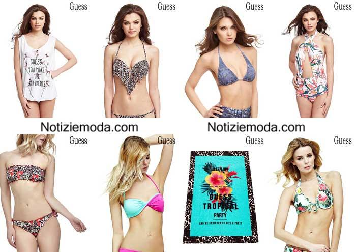 Moda-mare-Guess-primavera-estate-2016-bikini