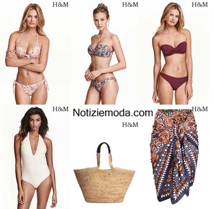 Moda mare HM primavera estate 2016 bikini donna