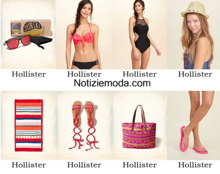 Moda mare Hollister primavera estate 2016 donna