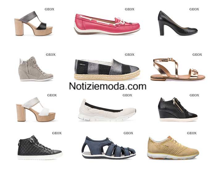 Scarpe Geox primavera estate 2016 calzature donna 4d279180e88