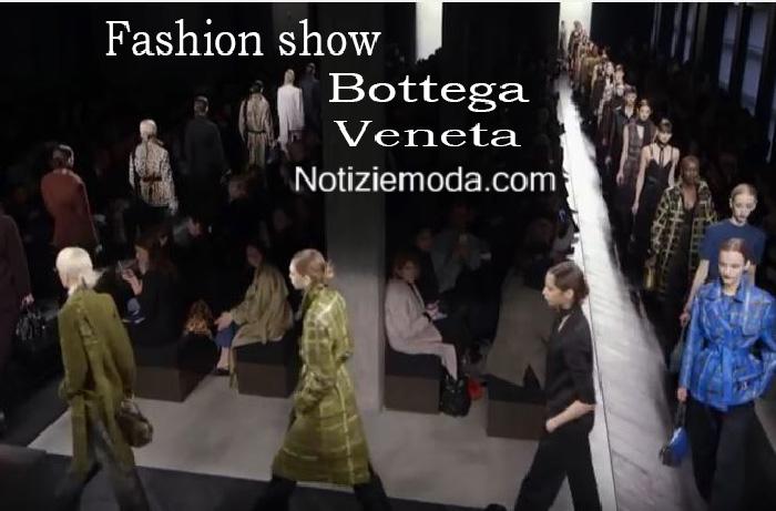 Sfilata Bottega Veneta autunno inverno 2016 2017 donna