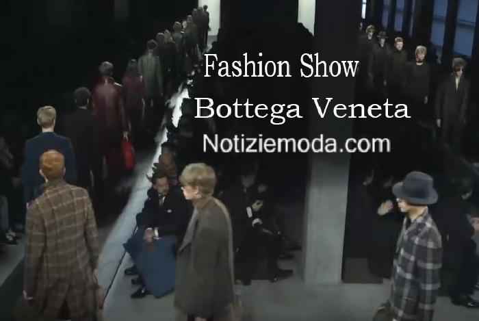 Sfilata Bottega Veneta autunno inverno 2016 2017 uomo