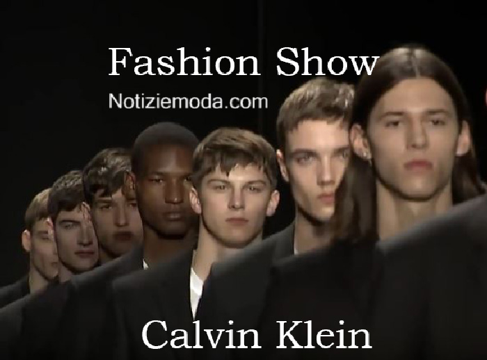 Sfilata Calvin Klein autunno inverno 2016 2017 uomo