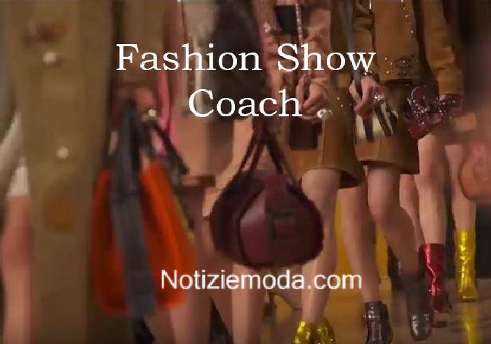 Sfilata Coach autunno inverno 2016 2017 donna