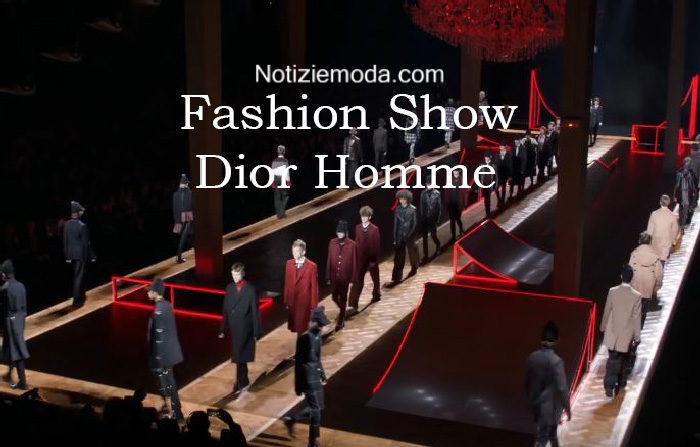 Sfilata Dior Homme autunno inverno 2016 2017 uomo