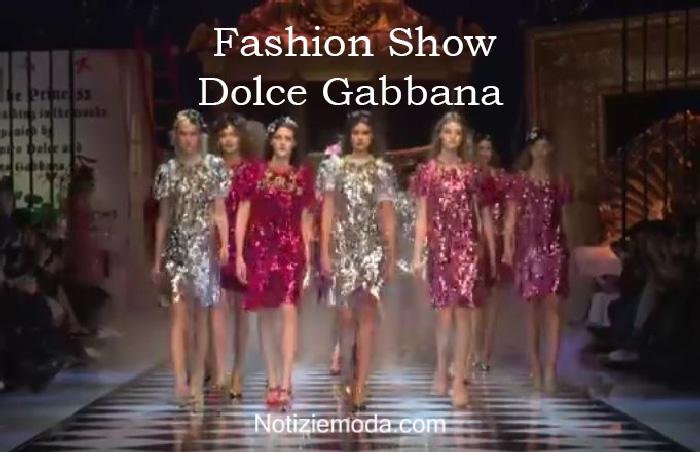 Sfilata Dolce Gabbana autunno inverno 2016 2017 donna