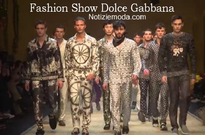 Sfilata Dolce Gabbana autunno inverno 2016 2017 uomo