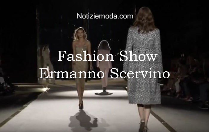 Sfilata Ermanno Scervino autunno inverno 2016 2017 donna