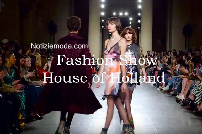Sfilata House of Holland autunno inverno 2016 2017 donna