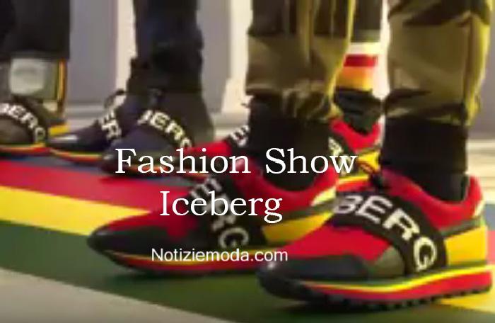 Sfilata Iceberg autunno inverno 2016 2017 uomo