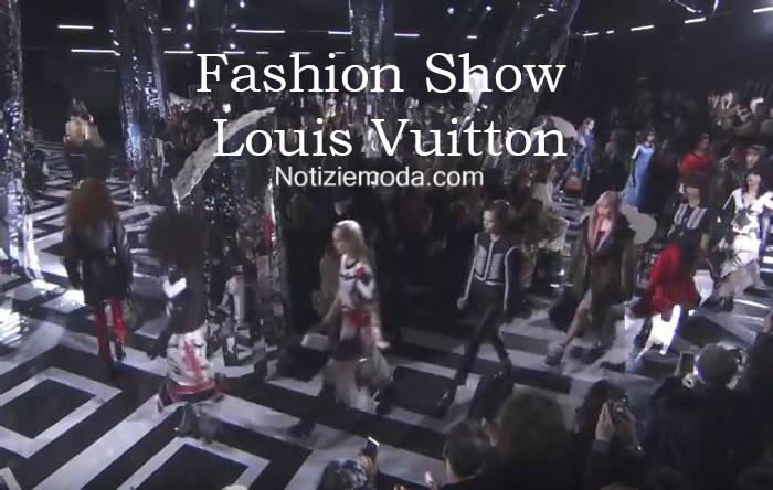 Sfilata Louis Vuitton autunno inverno 2016 2017 donna