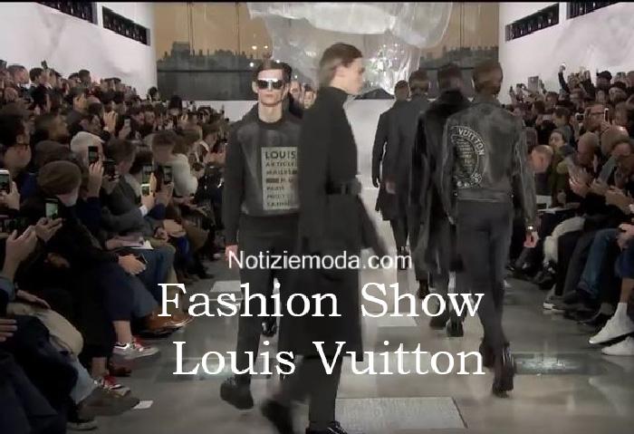 Sfilata Louis Vuitton autunno inverno 2016 2017 uomo