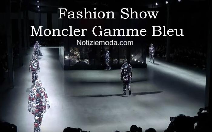Sfilata Moncler Gamme Bleu autunno inverno 2016 2017