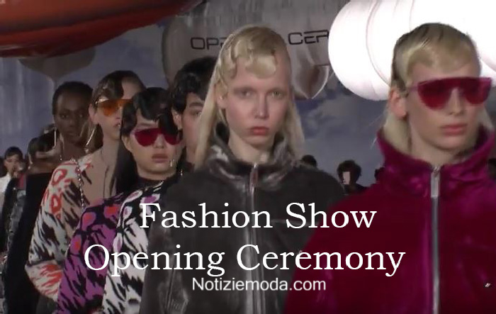 Sfilata Opening Ceremony autunno inverno 2016 2017 donna