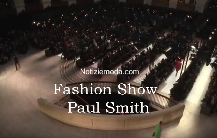Sfilata Paul Smith autunno inverno 2016 2017 uomo