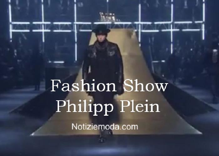 Sfilata Philipp Plein autunno inverno 2016 2017 uomo