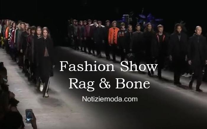 Sfilata Rag & Bone autunno inverno 2016 2017