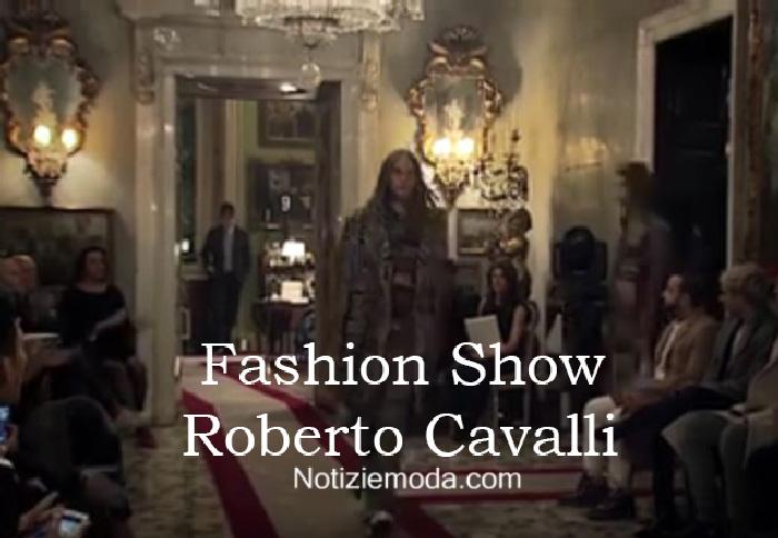 Sfilata Roberto Cavalli autunno inverno 2016 2017 uomo